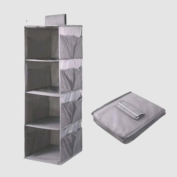 4-shelf closet organizer (set of 2)